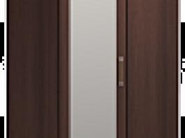 Скандинавия №5 Шкаф угловой с зеркалом