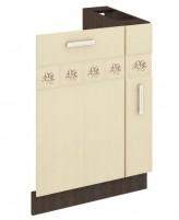 Аврора 10.68 Панель для посудомоечной машины  на 450 с бутылочницей на 150