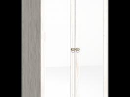 Бриз 54 Шкаф для одежды с зеркалом