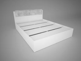 Сорренто Кровать 1400 мм.
