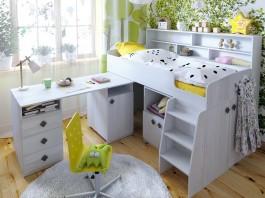 Кровать чердак Малыш-5