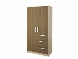 Мика СТЛ.112.02 Шкаф 2-х дверный с ящиками
