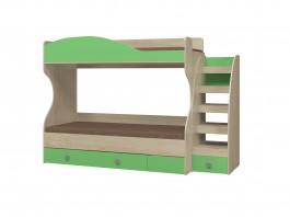 Лайф ИД 01.503 Двухъярусная кровать с настилом