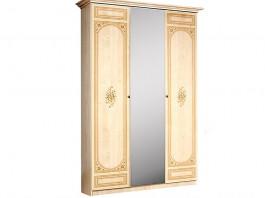 Европа 11 Шкаф 3-х дверный с зеркалом