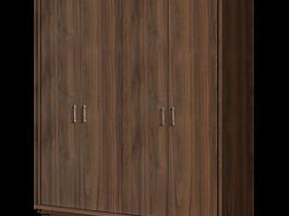 Челси ЧШ2/4 Шкаф 4-х дверный глухой