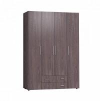 Монако 555 Шкаф для одежды и белья Стандарт Ясень Анкор темный