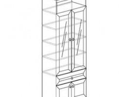 Инна 611 Шкаф для книг