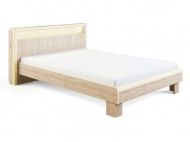 Оливия мод № 3.1 Каркас кровати с подсветкой 1400 мм.
