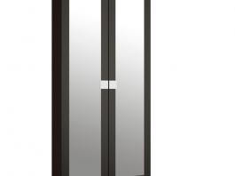 Александрия Премиум АМ-01 Шкаф для одежды с зеркалом