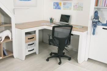 Нордик С2- Принт стол угловой