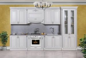 Кухня Аманта серебро 3,85 м.