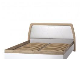 Дели белая №75 Кровать двойная 1600 мм.