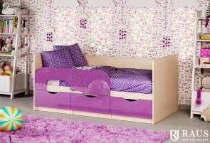 Детская кроватка Единорожек
