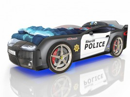 Kiddy Полиция Кровать-машина