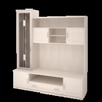 Ника-Люкс №50 Шкаф-стеллаж комбинированный