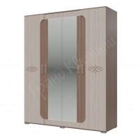 Пальмира Шкаф 4-х дверный 1800 мм
