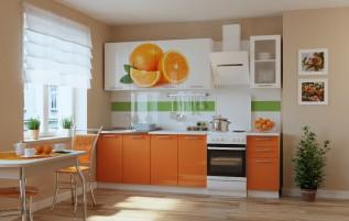 Кухня Апельсин 2,0 м.