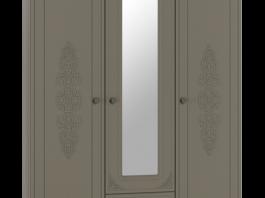 Ассоль+ АС-27 Шкаф трехстворчатый с зеркалом