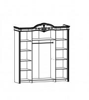 Джоконда Шкаф 3-х дверный крем глянец