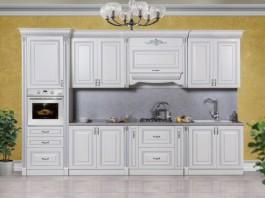 Кухня Аманта серебро 3,75 м.