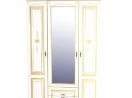 Роза Шкаф для одежды МН-306-03