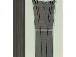 Афина 18.04 Шкаф-витрина 400 мм.