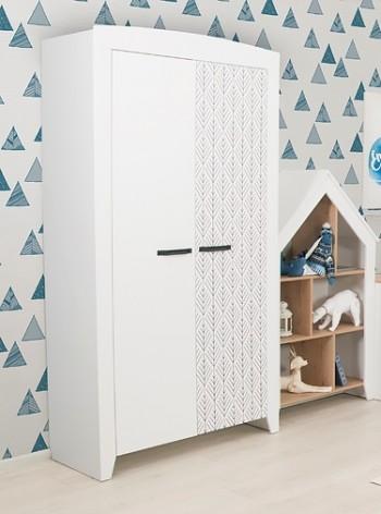 Нордик Ш1- Принт шкаф для одежды