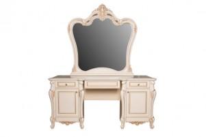 Беатрис Туалетный стол, зеркало и пуф