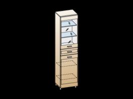 Камелия ШК-2646 Шкаф многоцелевой