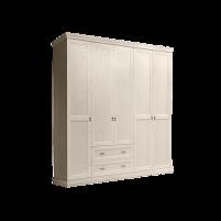 Венеция Шкаф  5-и дверный глухой с выдвижными ящиками