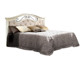 Анна АНКР-2[3] Кровать с ПМ 1600 мм мягкое изголовье одна спинка