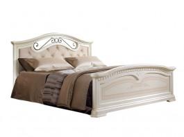 Анна АНКР-4 Кровать 1600 мм мягкое изголовье две спинки