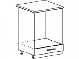 Ксения ШНД 600 шкаф нижний духовой