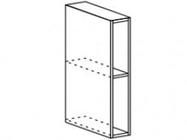 Ксения ШВБ 150 шкаф верхний открытый
