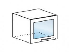 Ксения ШВГС 500 шкаф горизонтальный со стеклом