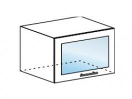 Ксения ШВГС 600 шкаф горизонтальный со стеклом