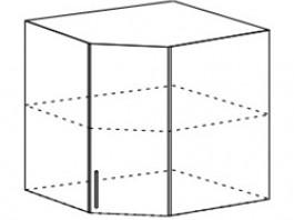 Ксения ШВУ 557 шкаф верхний угловой