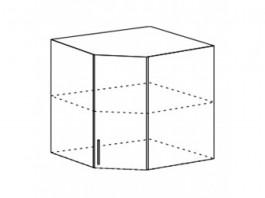 Ксения ШВУ 600 шкаф верхний угловой