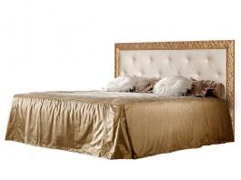 Тиффани Премиум ТФКР-2[3][7](П) Кровать с ПМ 1600мм мягкое изголовье со стразами