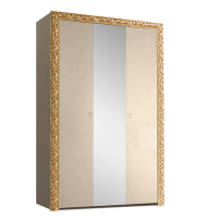 Тиффани Премиум ТФШ1/3(П) Шкаф 3-х дверный с зеркалом