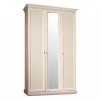 Тиффани ТФШ1/3 Шкаф 3-х дверный с зеркалом