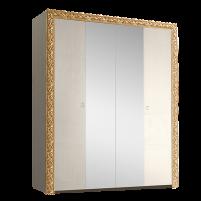 Тиффани Премиум ТФШ1/4(П) Шкаф 4-х дверный с зеркалом