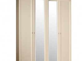 Тиффани ТФШ1/4 Шкаф 4-х дверный с зеркалом