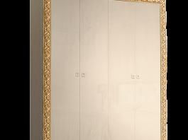 Тиффани Премиум ТФШ2/4(П) Шкаф 4-х дверный глухой